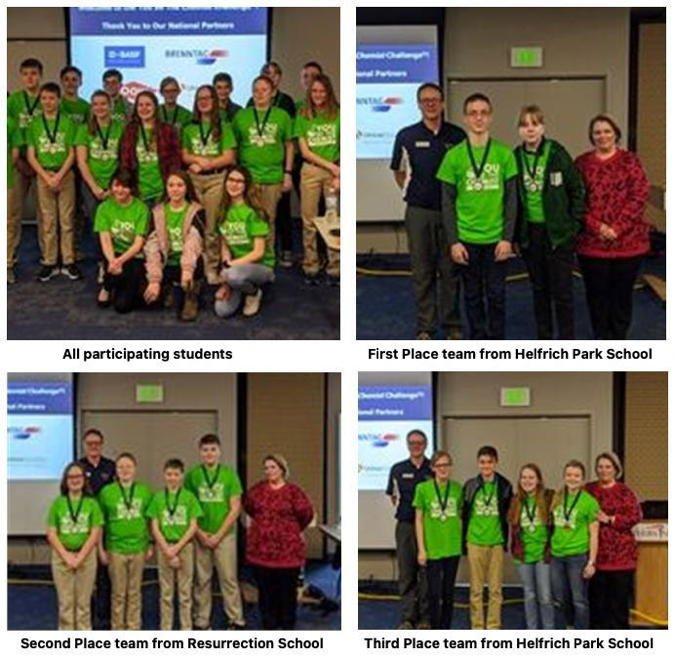 YBTC Middle School Teams